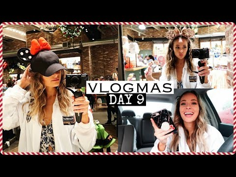Christmas Shopping & Disney  VLOGMAS DAY 9