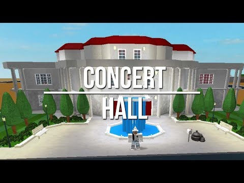 ROBLOX | Welcome to Bloxburg: Concert Hall