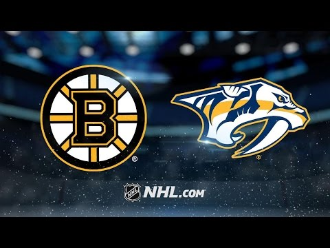 Saros comes up big in 2-1 win against Bruins