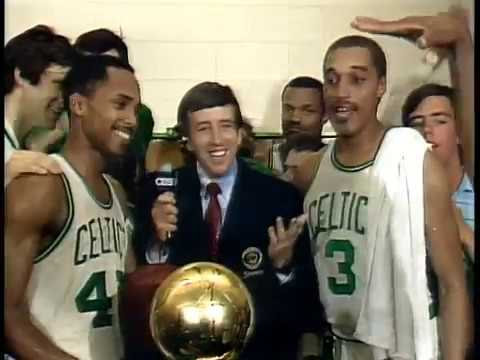 Celtics vs Lakers NBA Finals 1984 Game 7 ending