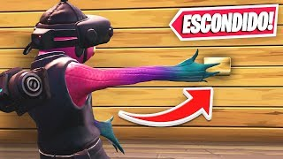 FIND the HIDDEN button to escape..! (Fortnite creative mode)