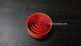 Paper Quilling | Tutorial | DIY | Learn how to make Paper Quilling Shape No 2 - Open / Loose Coil
