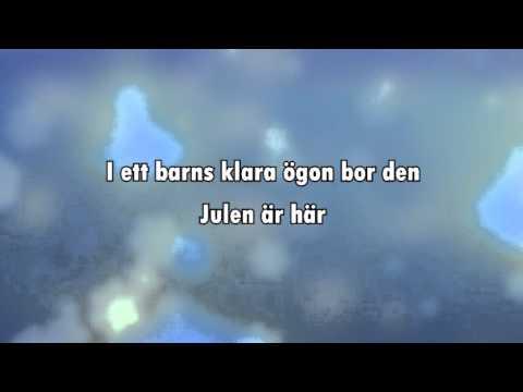 Julen är här (karaoke - lyrics)