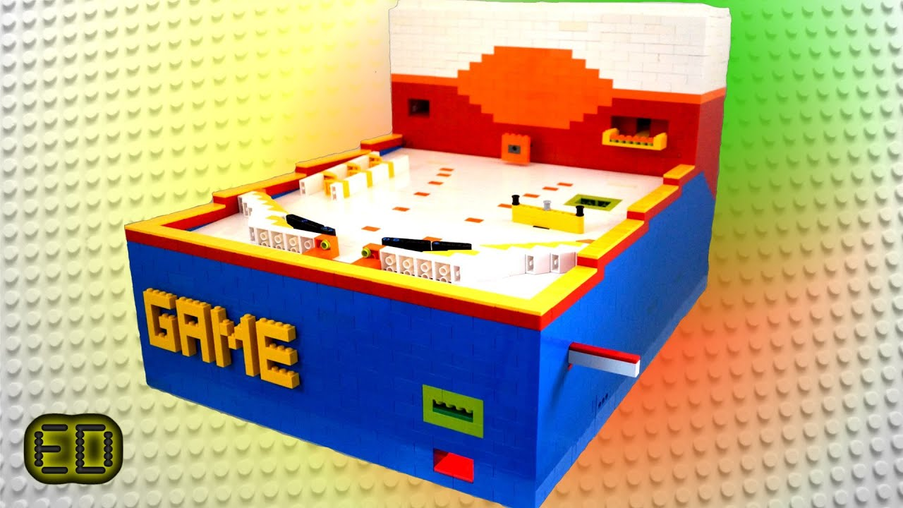 Lego Pinball Machine V4 Ultimate Youtube