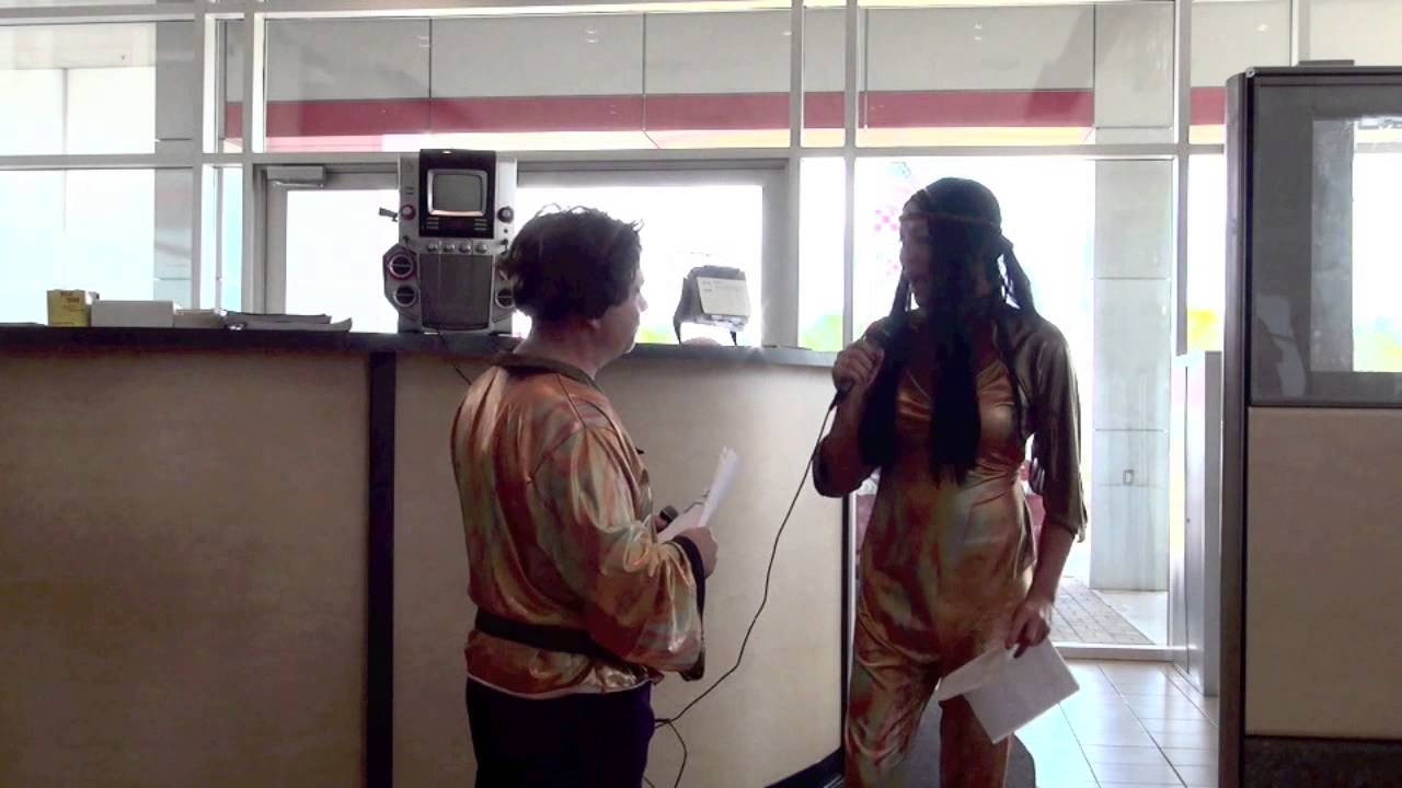 Sonny And Cher Karaoke At Ron Carter Toyota Halloween