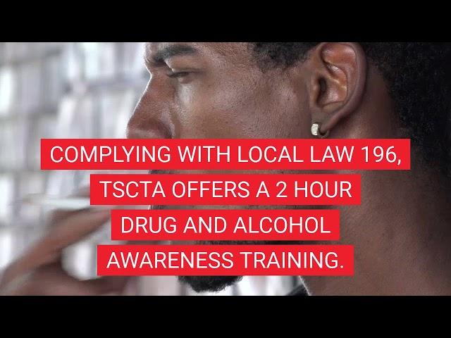 April is Alcohol Awareness Month  TSCTA