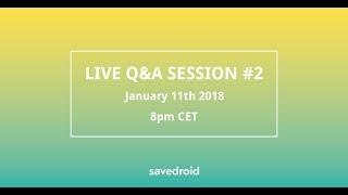 Live Q&A savedroid ICO #2