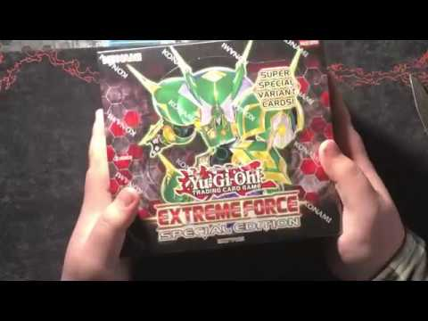 yugioh extreme force special edition box