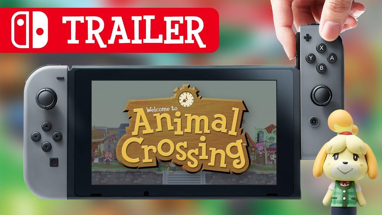 Nintendo Switch: Animal Crossing Trailer (fan made) - YouTube
