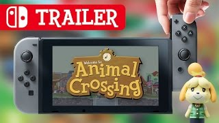 Nintendo Switch: Animal Crossing Trailer (fan made)