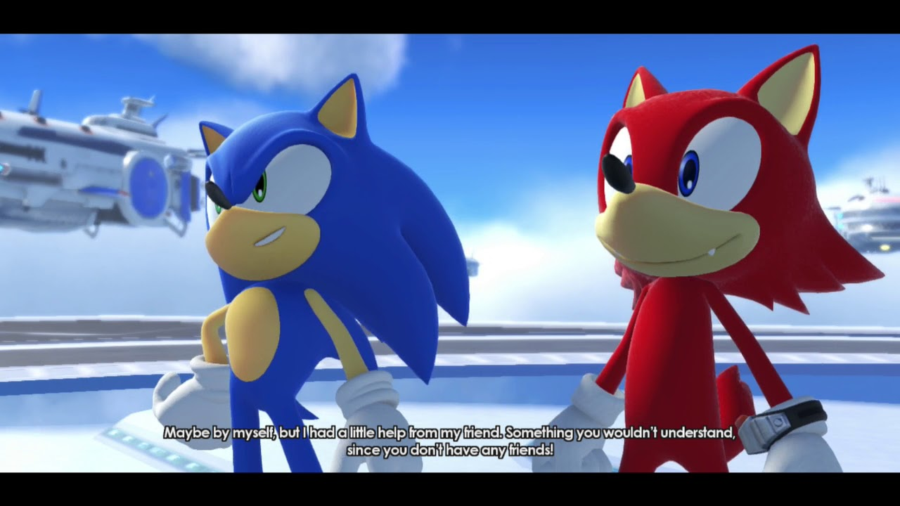 Stage  Red Rings Sonic Forces