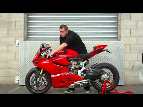 "Ducati 1199 Panigale running Pro-Shift GP Winning PS3 ""Closed Loop"" Semi-Automatic Gearshift System"