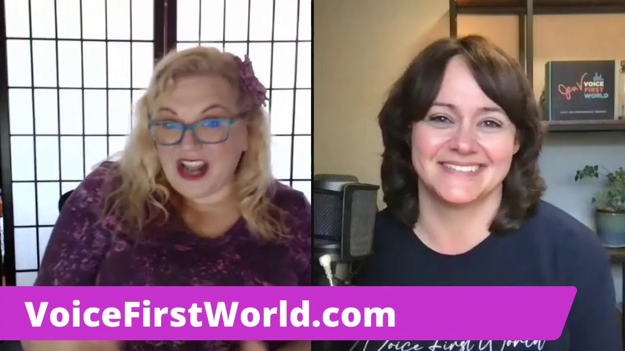 VOICE FIRST WORLD~ Interview With Jen Vellenga
