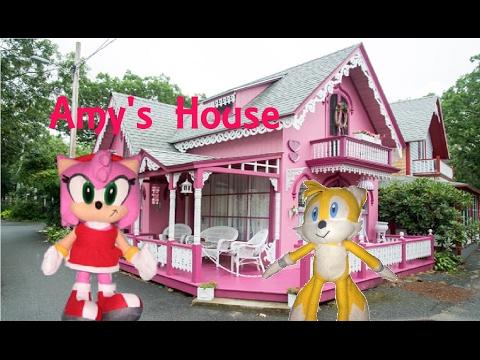 Sonic Plush Adventures- Amy's House