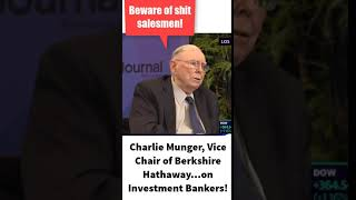 Hilarious Investing Quote from Warren Buffett friend Munger #Shorts