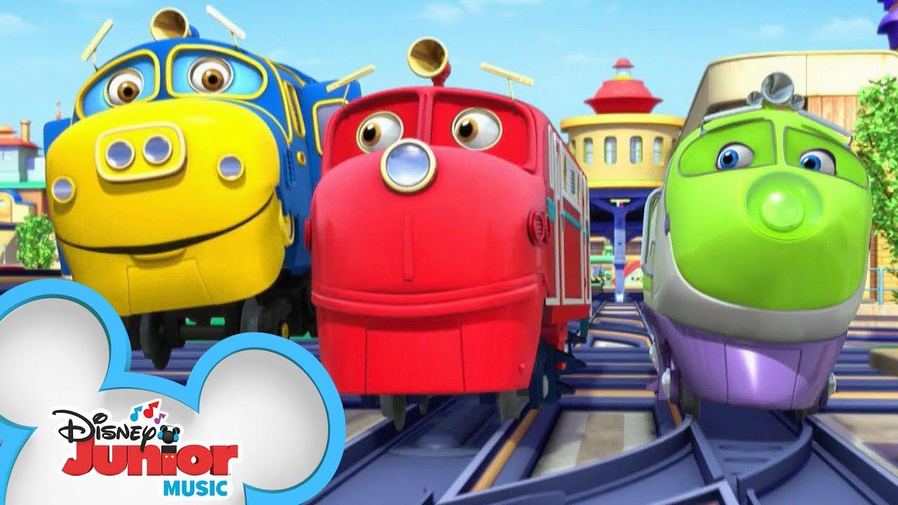 Sing-Along Theme Song | Chuggington | @Disney Junior