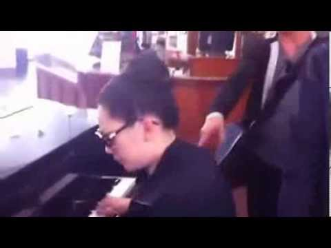 Behind the Scenes with ASE: Bang Kieu singing Opera with Nhu Quynh on piano