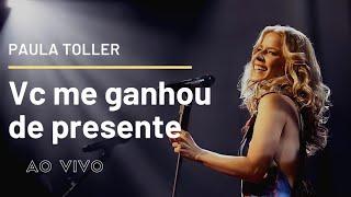 """Vc Me Ganhou de Presente - Paula Toller - DVD """"NOSSO"""""""