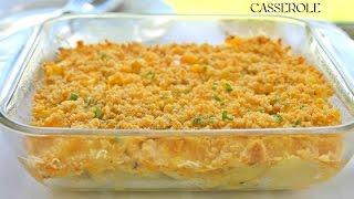 Sweet Corn And Potato Casserole