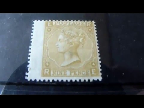 Victoria stamps of Great Britain