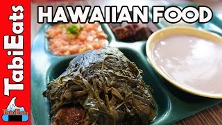 Awesome Hawaiian Food in Honolulu, Hawaii (Highway Inn Food Re…