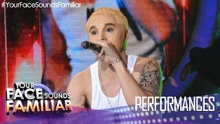 Repeat youtube video Your Face Sounds Familiar: Sam Concepcion as Eminem -