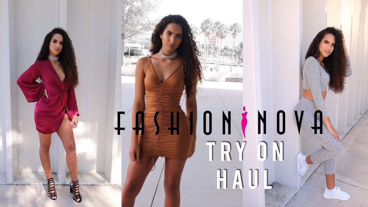 8587d48ed9a Fashion Nova TRY-ON HAUL!!