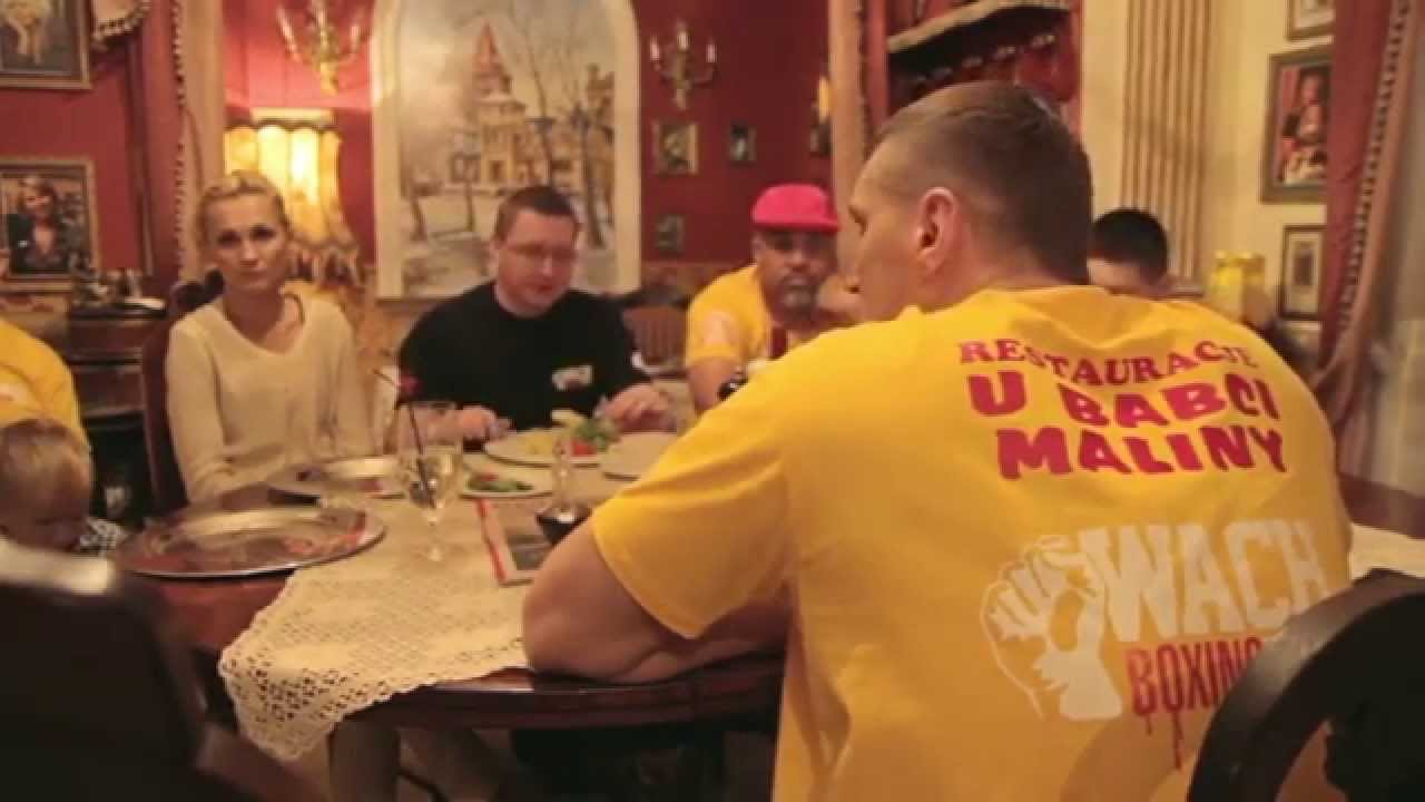 Mariusz Wach Oraz Juan De Leon Na Obiedzie W Restauracji Kuchnia U