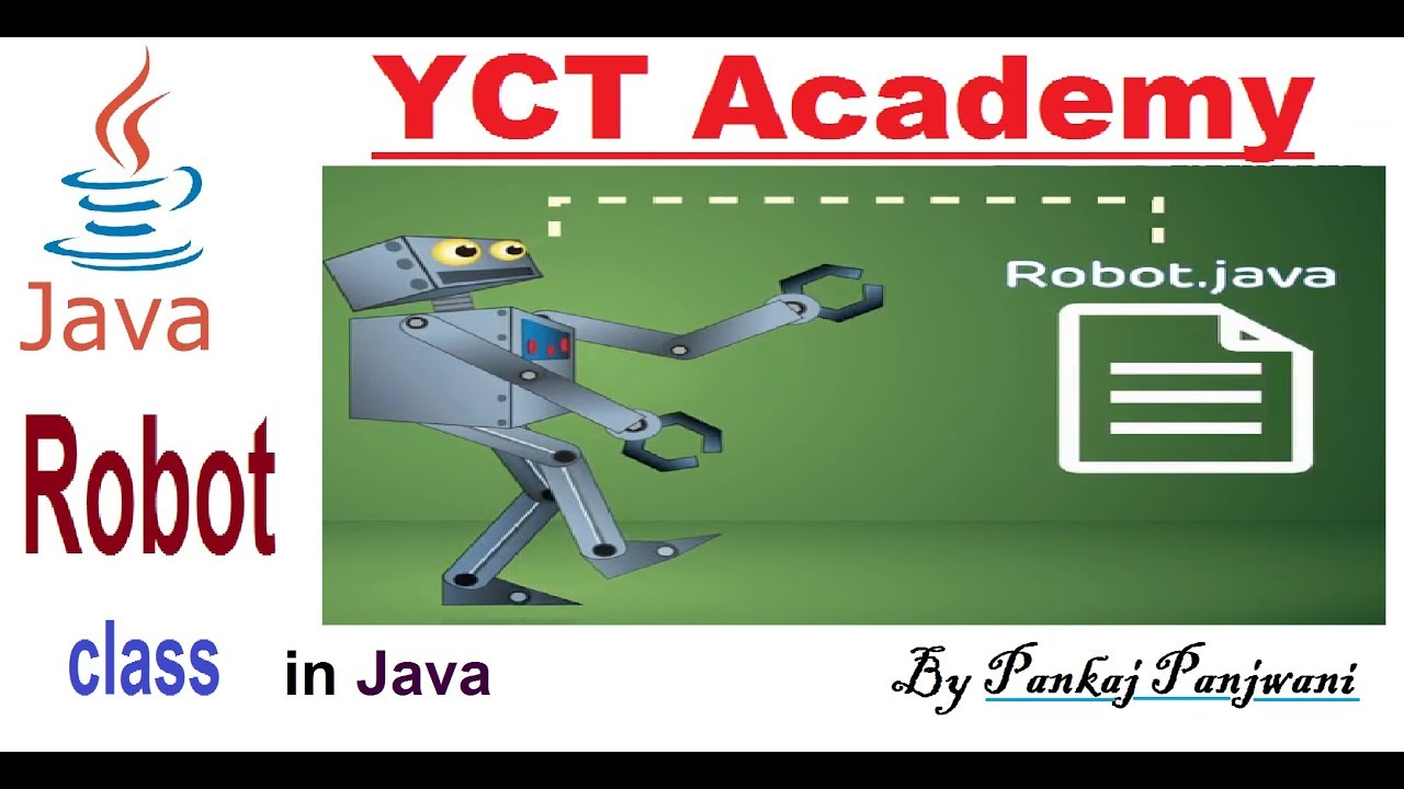 Ghost keyboard Typing Program in Java Using Robot class | Hindi