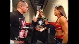 WWF - 09.24.2001 - Raw - Hurricane, Lance Storm & Ivory vs Big Show, Spike & Molly- Full Match