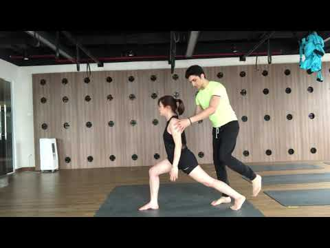 Yoga for Slim Hips and Thighs with Master Jai