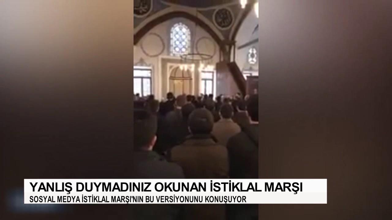 İstiklal Marşı'nın camide okunan bu versiyonu sosyal medyada rekor kırdı