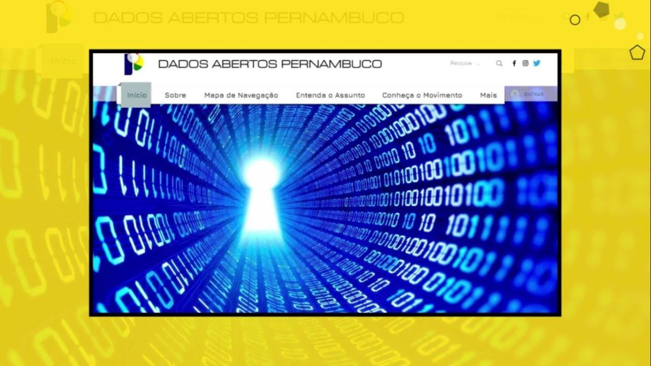 Apresentação Portal de Dados Abertos Pernambuco