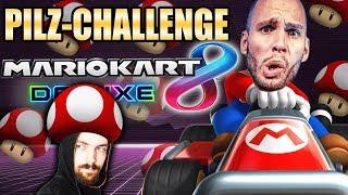 PILZ CHALLENGE mit Zuschauern! Mario Kart 8 Deluxe! - Flying Uwe