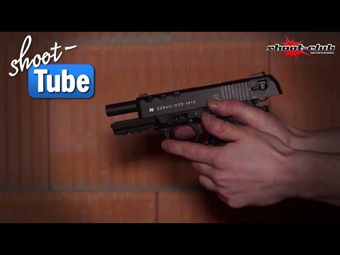 Zoraki 4918 150 Schuss Schusstest