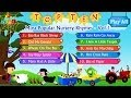 Top 10 - Ten Most Popular Nursery Rhymes Collection Vol. 1 with Lyrics