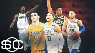 Ben Simmons and Donovan Mitchell leading one of the best rookie classes ever | SportsCenter | ESPN