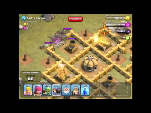 Clash of Clans   Flammy's ULTIMATE Wall Breaker Guide   YouTube
