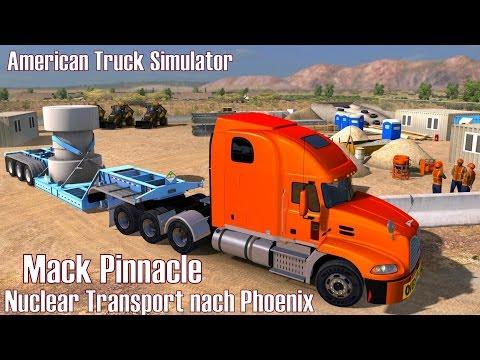 ATS I Mack Pinnacle ★ Nuclear Transport nach Phoenix ★ #96 US Truck Tour [Deutsch/HD]