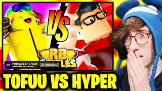🔴 TOFUU vs HYPER (LIVE REACTION) | ⚔️ Roblox RB Battles Championship | 1 Million Robux Prize