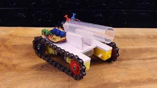 Cách Làm Xe Tank Chạy Bánh Xích