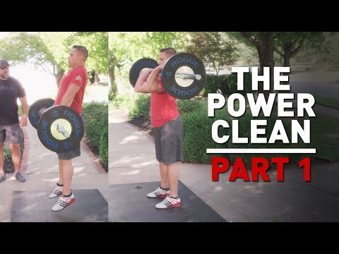 How To Power Clean: Step by Step Beginner's Tutorial