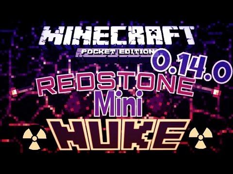✔️Minecraft PE 0.14.0   MINI NUKES {REDSTONE}    MCPE 0.14.0 Powerful MINI bomb!