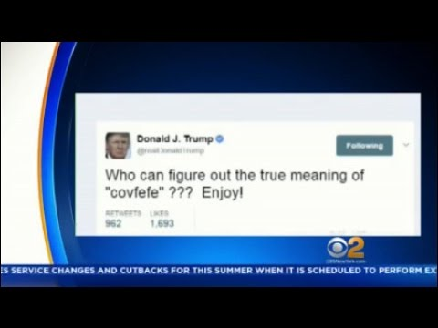 Who Can Figure Out the True Meaning of 'Covfefe' ???
