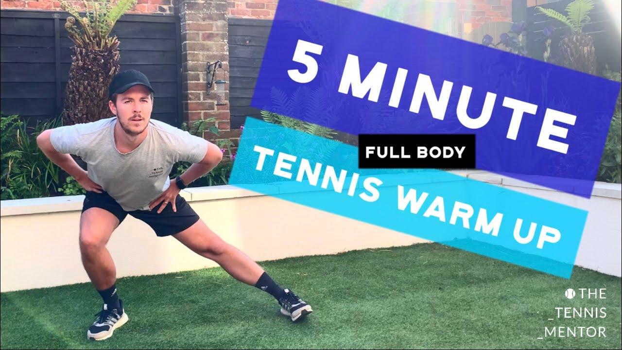 5 Minute Full Body Tennis Warm Up (No Equipment)