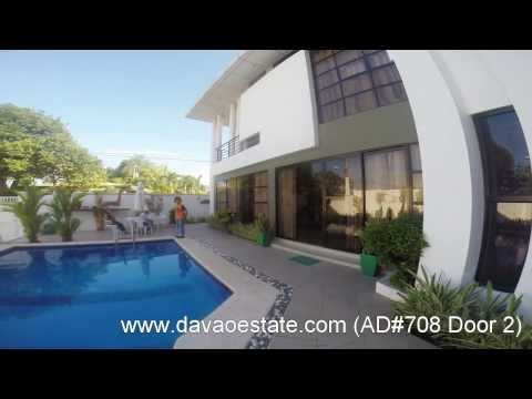 House for Rent / Lease with swimming pool in Davao City- AD#708 www.davaoestate.com