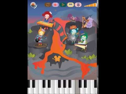 App Preview: Mussila - Musical monster adventure   Notes   Piano   Rhythm   Melody