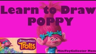 Learn How to Draw Poppy From Trolls
