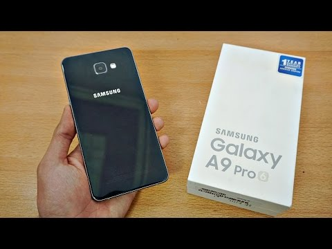 Samsung Galaxy A9 Pro (2016) - Unboxing & First Look! (4K)