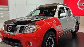 Watch the Nissan Frontier Diesel Runner concept truck debut at the Chicago Auto Show